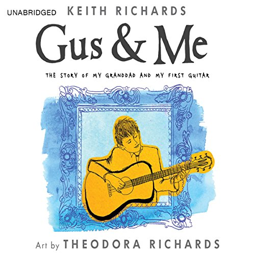 Gus & Me audiobook cover art