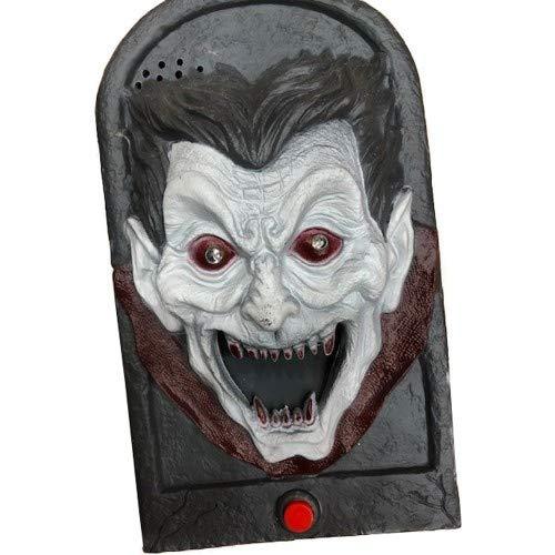 Deurbel - Vampier - Bewegend - Met licht & geluid - 18cm