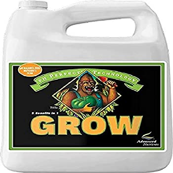 Advanced Nutrients 1301-15 Grow pH Perfect Fertilizer 4 Liter
