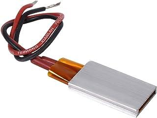 Jadeshay PTC del Elemento de calefacción-AC/DC 12V termostático Shell de Aluminio cerámico Calefacción Placa de calefacción Constante de Temperatura (3 Opcional) (tamaño : 220℃)