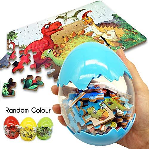 BEESTECH Giant Dinosaur Puzzle Egg, Dinosaur...