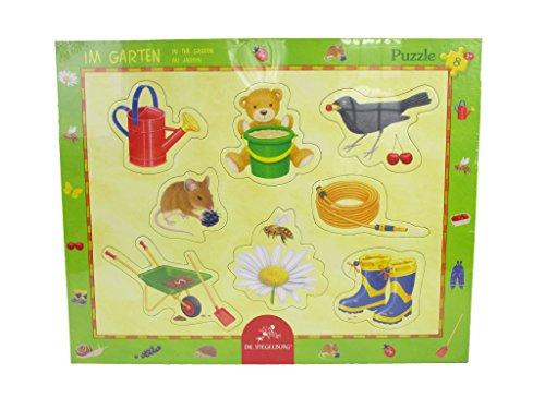 Spiegelburg Lot de 8 Pièces de Puzzle dans Le Jardin Cadre, 37 x 37 x 29 cm, modèle # 11931