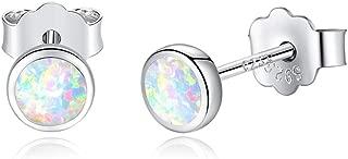 opal earrings real
