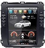 Navegación GPS para Toyota Prado 2002-2009 10.4' Pantalla Vertical Bluetooth Touch Player Android Coche Play Mirror Link Entretenimiento Multimedia Estéreo,4g WiFi 4+64g