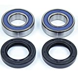 Caltric Front Wheel Ball Bearings & Seals Kit Compatible with Yamaha R1 Yzfr1...