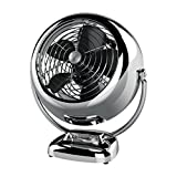 Vornado VFAN Vintage Air Circulator Fan, Chrome