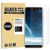 OKZone Protector de Pantalla Pare Samsung Galaxy S8 Plus, [3 Unidades] Cristal Templado Vidrio Templado Protector de Pantalla con [2.5d Borde Redondo] [9H Dureza] [Alta Definicion]