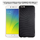 Forhouse Phone Hülle für Oppo F3 Plus Hülle Backcase Durable Back Bumper Cover [ Black ]