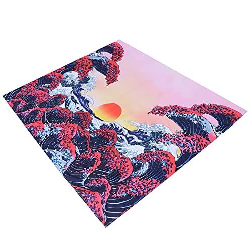 Nunafey Tapiz de Pared, Tapiz cómodo Suave Transpirable para Mantas de Picnic para decoración de Fondo(200 * 150CM)