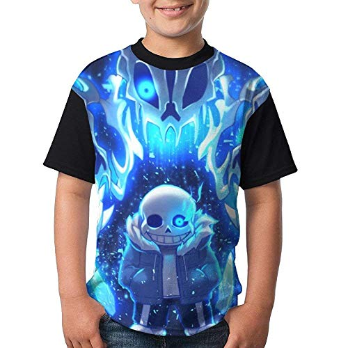 MYHL Undertale-Sans Fashion 3D Youth T T-Shirt.We Have More Beautiful Products in Our Store!