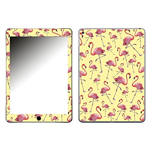 'Disagu SF 106206_ 1095Design' Clip On Back Cover For Apple iPad Air 2Flamingo Pattern Yellow Clear