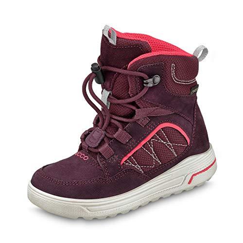 ECCO Damen URBAN Snowboarder Hohe Sneaker, Violett (Fig/Teaberry 51641), 38 EU