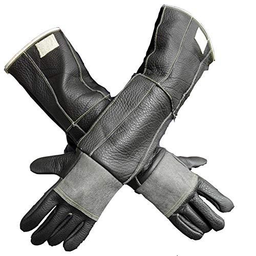 Verlengde dubbele dikke anti-beet handschoenen, pak slangenhandschoenen, anti-Otter beet, anti-Snake beet, anti-Cat beet 60 cm