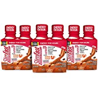 12-Count SlimFast Advanced Energy Caramel Latte Shake, 11 fl oz