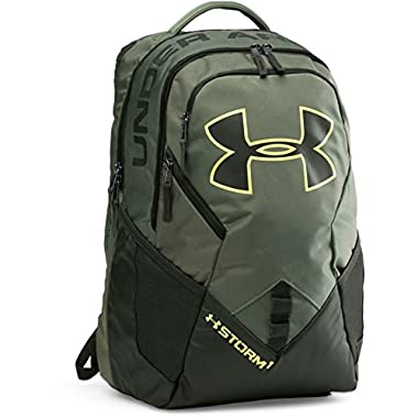 Under Armour Unisex UA Big Logo IV Backpack Downtown Green/Artillery Green/X-Ray Backpack