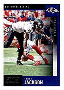 2020 Score #44 Lamar Jackson Baltimore Ravens NFL Football Card NM-MT