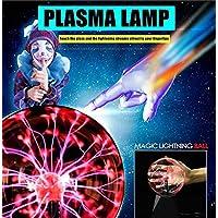 Bola De Plasma Bola De Plasma Bola De Juguete Física Luz De Destello Lámpara De Plasma Esfera Efectos De Luz para Cumpleaños Decoración De Fiesta De Juguete Escritorio De Regalo