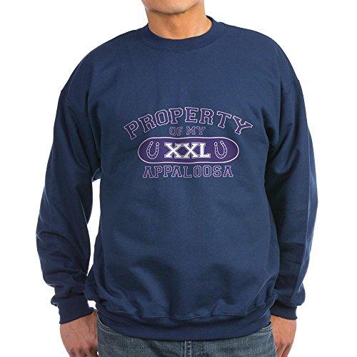 CafePress Appaloosa Property Classic Crew Neck Sweatshirt Gr. X-Large, navy