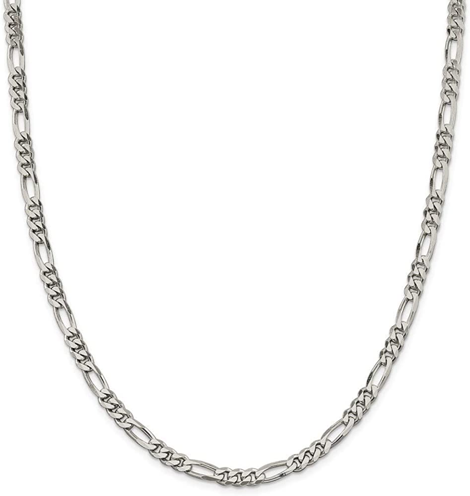 925 Sterling Silver Figaro Chain for 今だけスーパーセール限定 Necklace Wome オンラインショッピング Jewelry Gifts