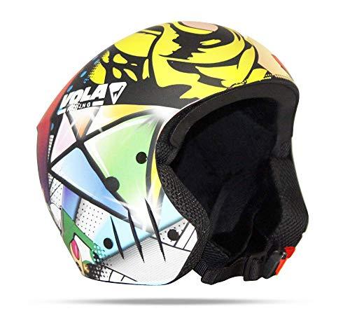 Vola helm FIS Pop Art T S volwassenen, unisex, meerkleurig, XL