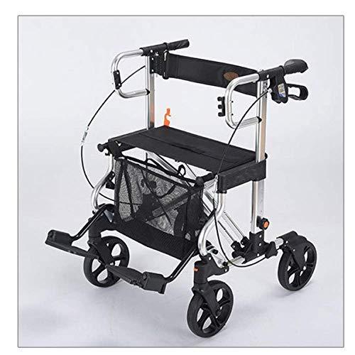 Xiaotian Einkaufswagen, Old Man Trolley, Walking Auto, einkaufswagen, allrad klappbar, Schritt aluminiumlegierung Rollstuhl