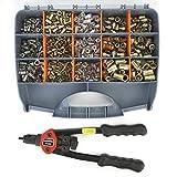 Pinza rivettatrice per rivetti M3 M4 M5 M6 M8 M10 Kit di dadi di rivetto con pinza per rivettare a mano