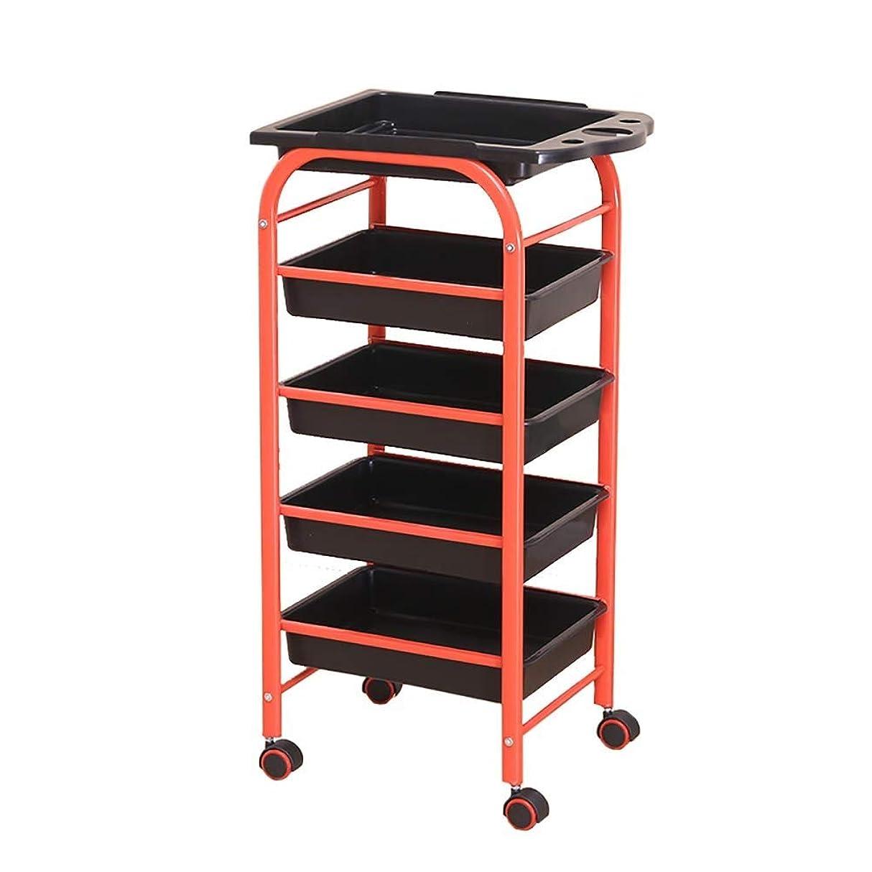 騒乱自治カブ仕事の家のカートの道具取り外し可能な引出しが付いている5層の美用具のカート、車輪が付いている実用的なカート、15のkg容量、仕事の家の圧延のトロリー