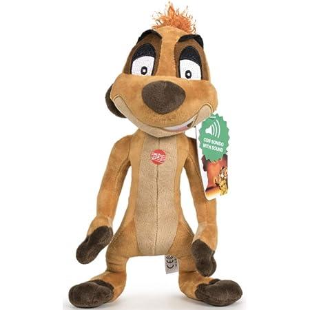 Play by Play Peluche Timon Amigo de Simba y Pumba El Rey Leon Soft con Sonido 30cm