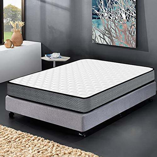 Kono Single Mattress 3FT Spring 3D Breathable Quilted Knitting Fabric Fire Resistant