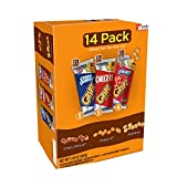 Gripz Chips Deluxe Minis, Grahams, Cheez-It Cookies and Crackers, 12.6 oz(Pack of 4)