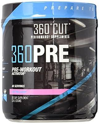 360CUT 360Pre-Workout Activator, 640 Gram