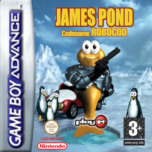 Play It James Pond 2: Codename RoboCod, GBA