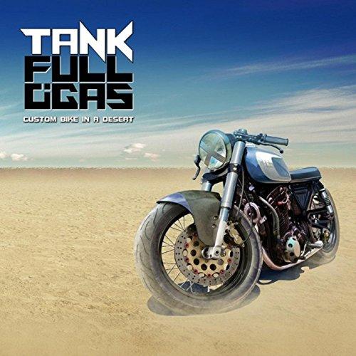 Custom Bike in a Desert
