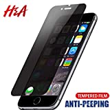 Protector de Pantalla para,Privacy Screen Protector For iPhone 7 6 6S Plus 5 5S Privacy Explosion-Proof Tempered Glass For iPhone 8 7 Protective Glass for iPhone 6 6s