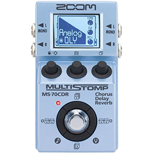 Zoom MS-70CDR/UK Guitar Effects Pedal
