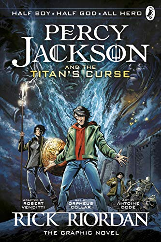 Percy Jackson and the Titan\'s Curse: The Graphic Novel (Book 3) (Percy Jackson Graphic Novels, Band 3)