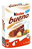Kinder Bueno 6 Riegel, 129 g Packung - Milupa AG