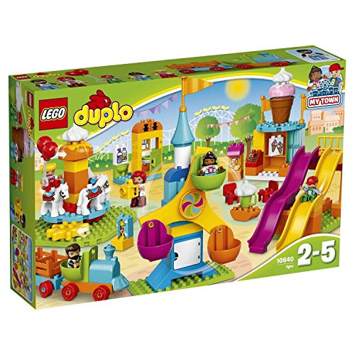 LEGO Duplo 10840 Großer Jahrmarkt mit Zug & Rutsche