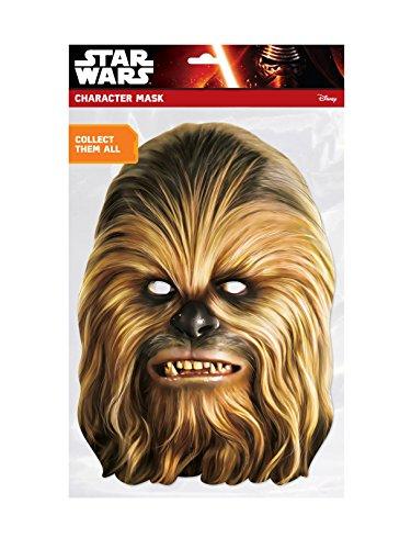 Generique - Masque Carton Chewbacca Star Wars