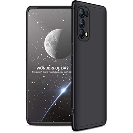 MOBIKIT Back Cover For Oppo Reno 5 Pro ( Poly Carbonate|Black )