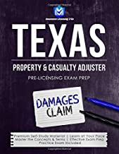 Texas Property & Casualty Adjuster: Pre-Licensing Exam Prep