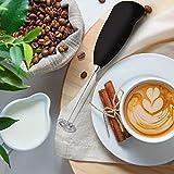 JENICO WORLD Mini Coffee Milk Egg Beater Electric Foam Hand Blender Mixer Classic Sleek Design Froth Whisker Latte Maker for Milk,Coffee, Beater,Juice,Cafe Latte,Cappuccino (Mini Blender)