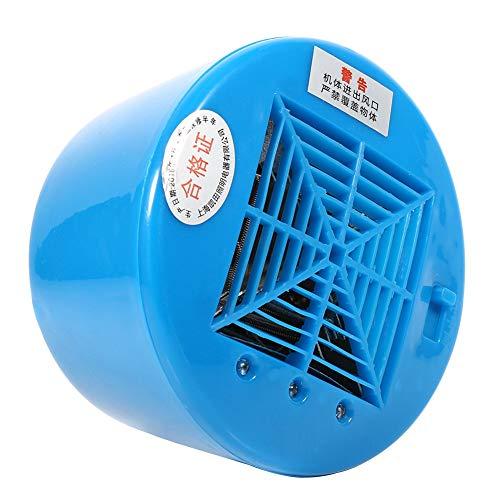 Niunion Lámpara de Calor Blub, E27 Tipo Aves de Corral Lámpara de Calor Bombilla Criadora Lechones Pollo Mascota Mantener el Calentamiento Azul Claro(Azul)