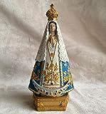 LPQA Estatuas Figuritas Decoración Pintada A Mano Estatua De Nuestra Señora De España Creativa Resina Artesanías Mundo Turismo Souvenir Colección De Regalos Decoración para El Hogar