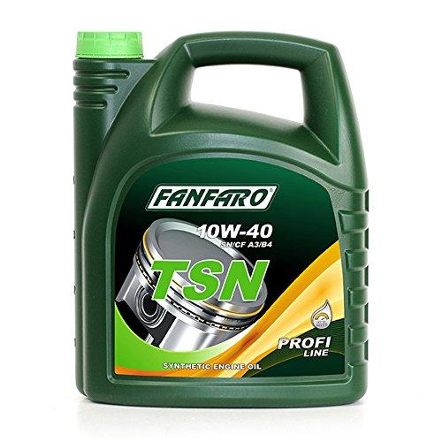 FANKLO 1 x 5L TSN 10W-40 SN/CF/synthetische motorolie ACEA A3/B4 502.00/505.00 229.1