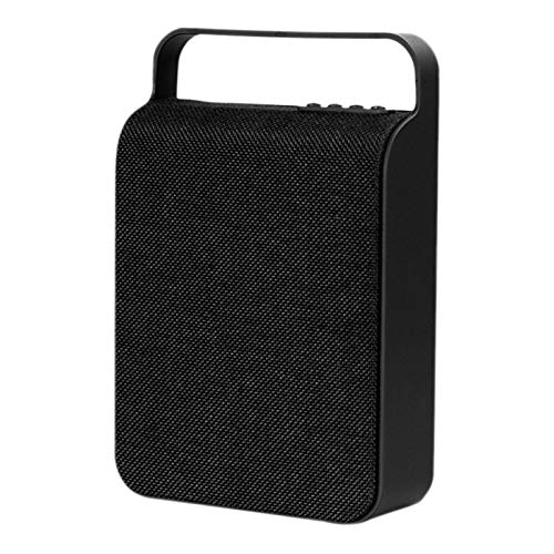 GUANGHEYUAN-J Altavoces estéreo portátil Bluetooth HS-345 Bluetooth Altavoz de Tela Sonido del Altavoz de subgraves Inteligente al Aire Libre, Altavoces (Color : Black)
