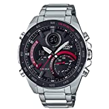 Casio Reloj para Hombre de Cuarzo con Correa en Acero Inoxidable ECB-900DB-1AER