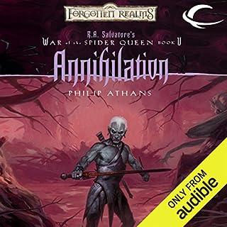 Annihilation audiobook cover art