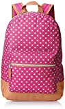 Trailmaker Girls' Dots Backpack, Pink, One Size