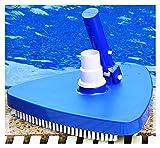 GOLOFEA Piscina Cabeza de succión Aspiradora, Taza de succión del triángulo, Piscina Máquina de succión de la Piscina Herramienta de Limpieza bajo el Agua Ventosa de succión Solid Color